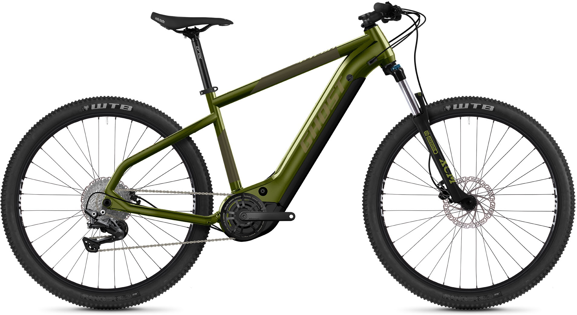 ghost e bike e teru universal 29 10 gang shimano deore rd m4120 mittelmotor 250 w - Radfahren Aluminium-Legierung CNC-Fahrrad / Fahrrad-Rückwarnlampe , MiniInTheBox
