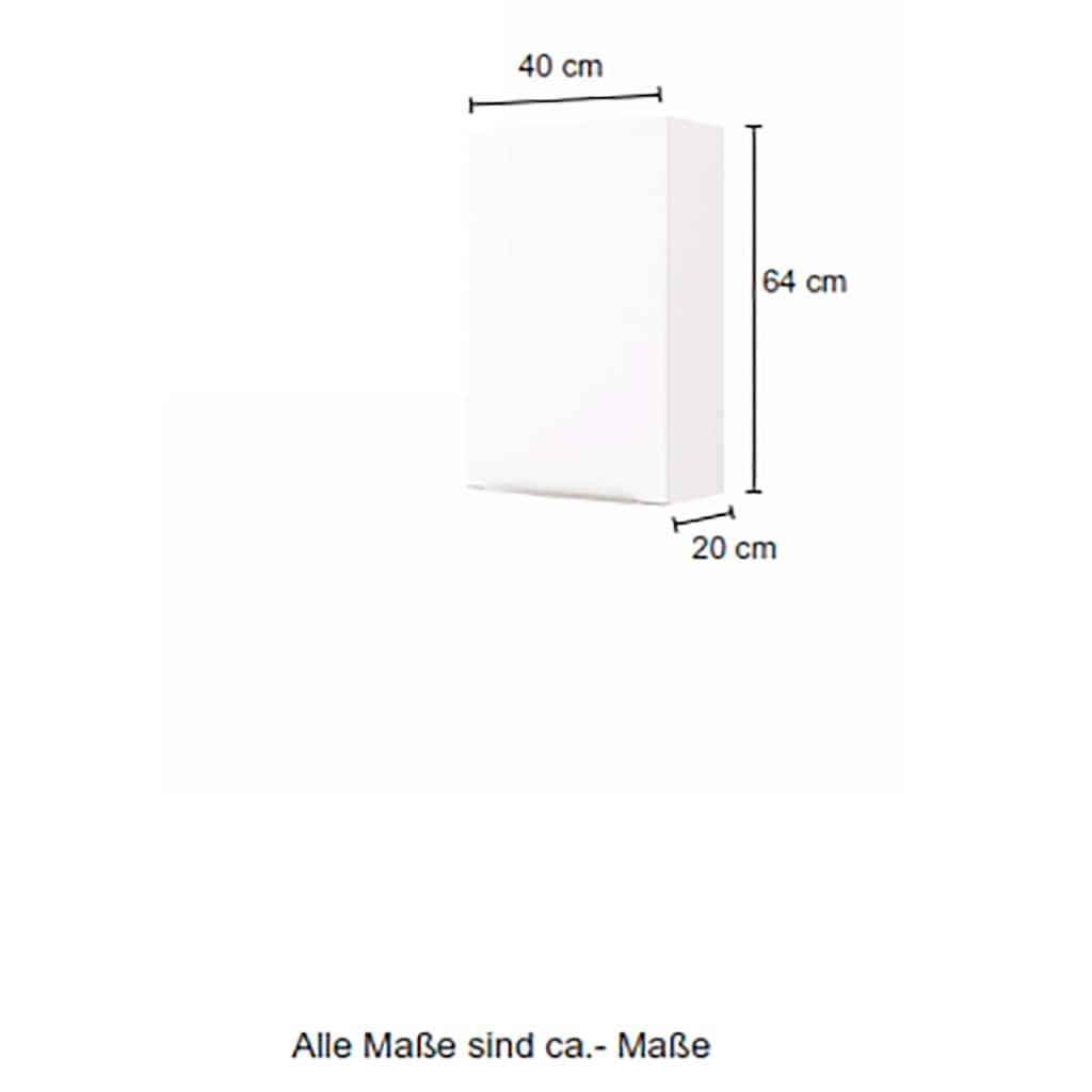 HELD MÖBEL Hängeschrank »Matera«, Breite 40 cm, mit hochwertigen matten MDF-Fronten
