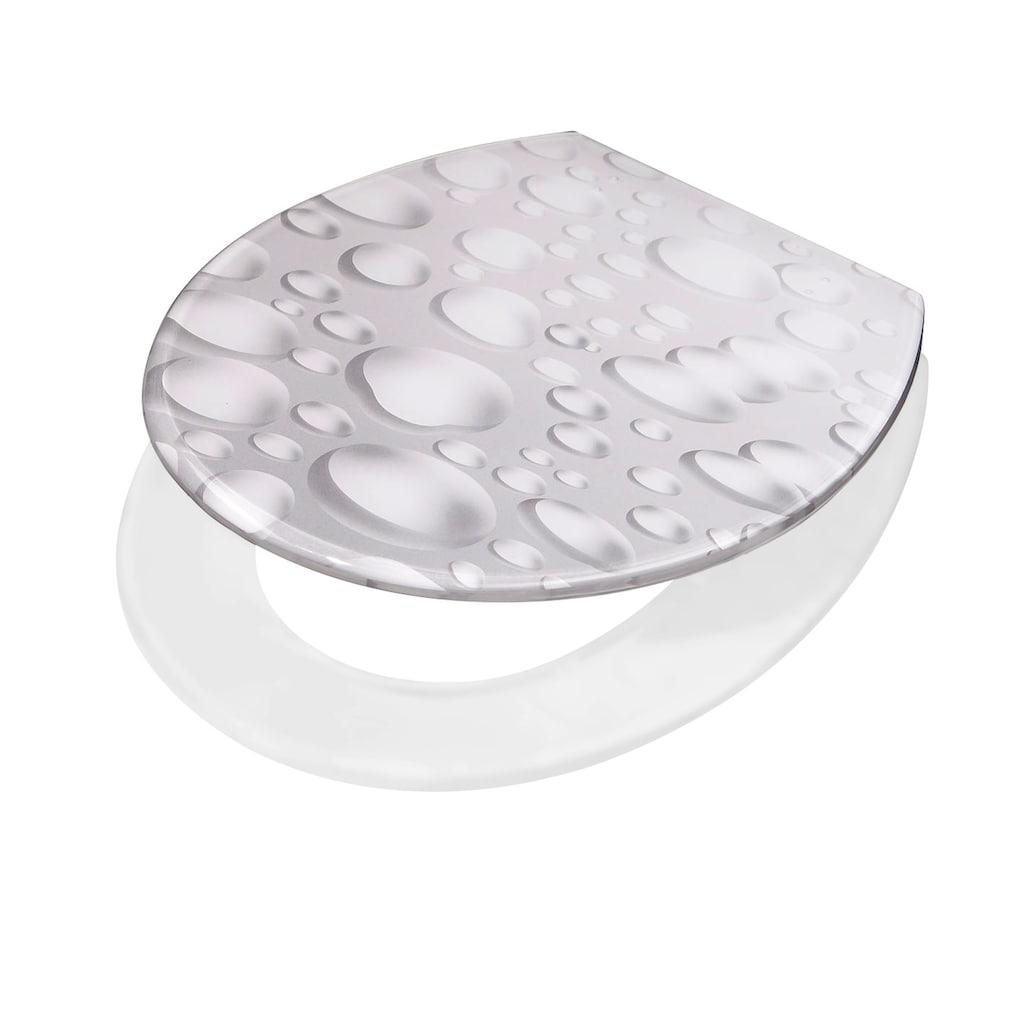 ADOB WC-Sitz »Drops«, Mit Absenkautomatik