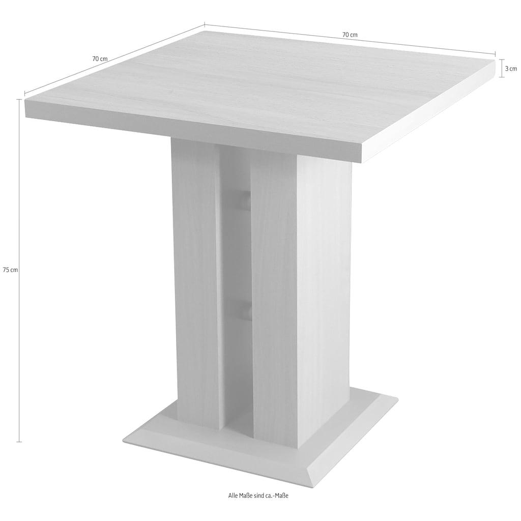 Säulen-Esstisch »Luxor«, Breite 70 cm