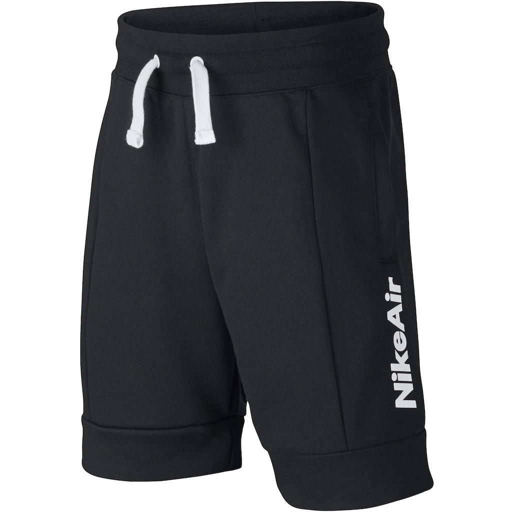 Nike Sportswear Sweatshorts »BOYS NIKE AIR FRENCHTERRY SHORT«