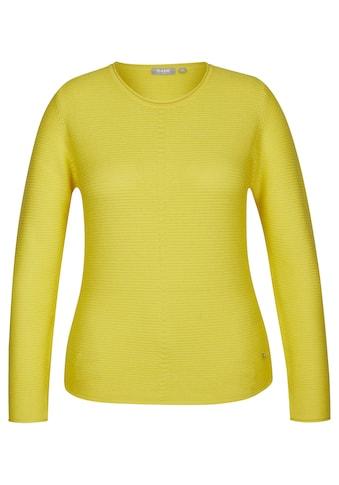 Rabe Pullover in Rippstrick und unifarbenem Design kaufen