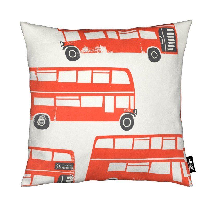 Dekokissen London Busses Juniqe