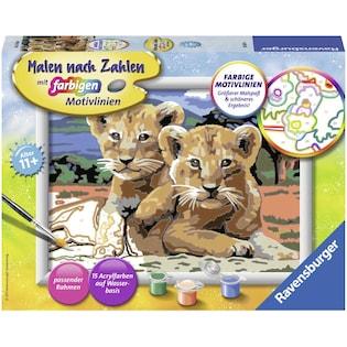 Ravensburger Malen Nach Zahlen Singing Cat Auf Rechnung