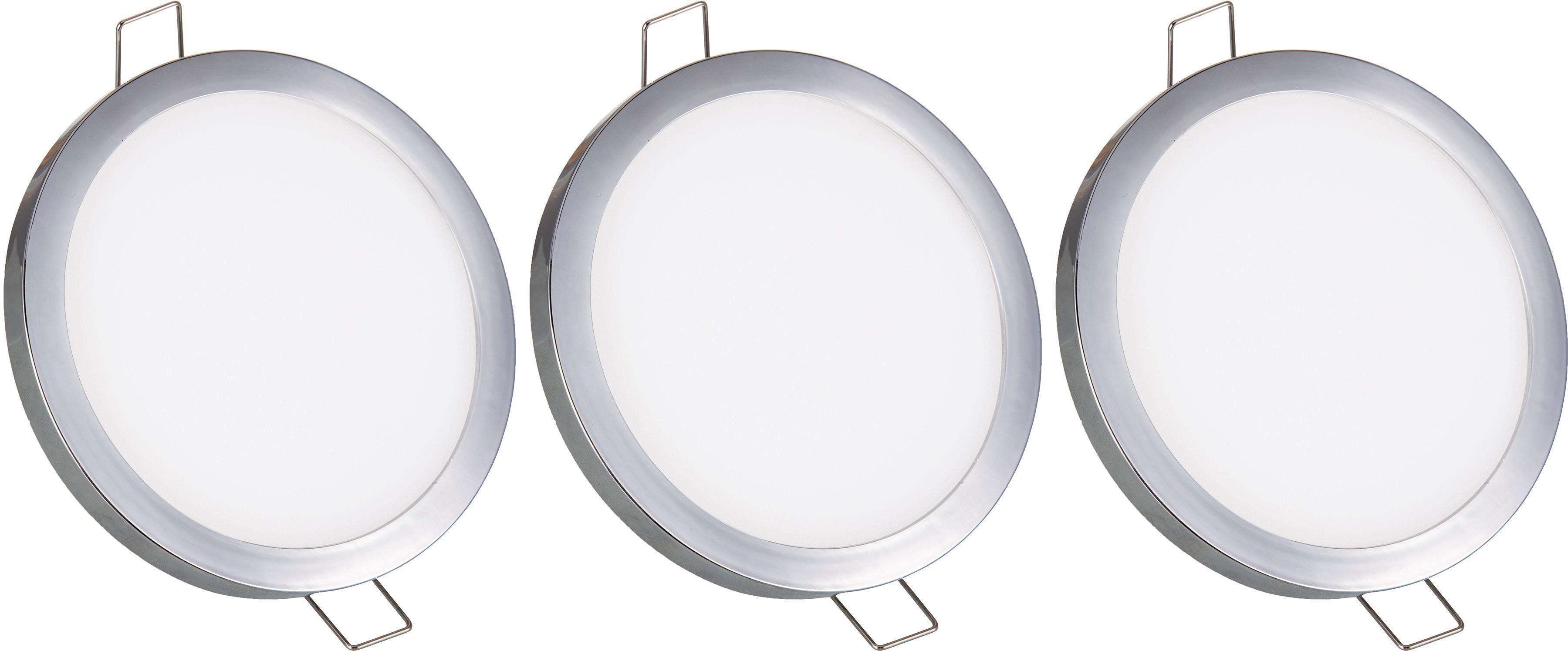 Nino Leuchten LED Einbaustrahler Sparky, LED-Board, 1 St., Warmweiß