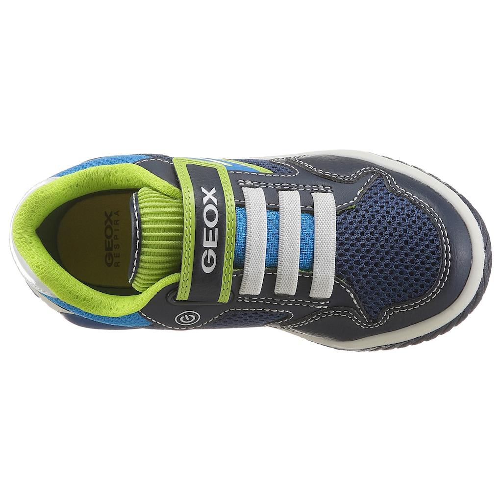 Geox Kids Sneaker »INEK«, mit Blinkfunktion zum ein und ausschalten