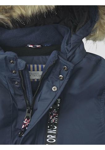 TOM TAILOR Winterjacke »Winterjacke mit Kapuze« kaufen