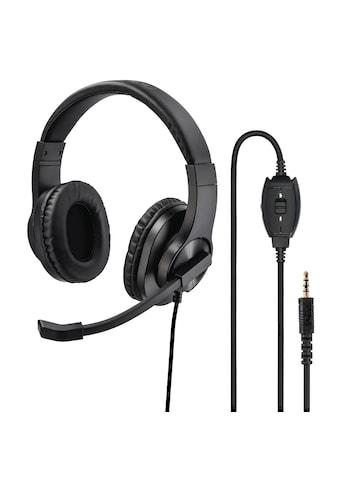 "Hama PC-Office-Headset ""HS-P350"", Stereo, Schwarz kaufen"
