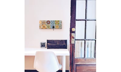 Artland Schlüsselbrett »Gemusterte Keramikfliesen« kaufen