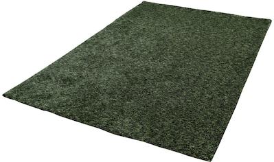 Gino Falcone Teppich »Roberto Uni«, rechteckig, 20 mm Höhe, meliert, besonders weich... kaufen