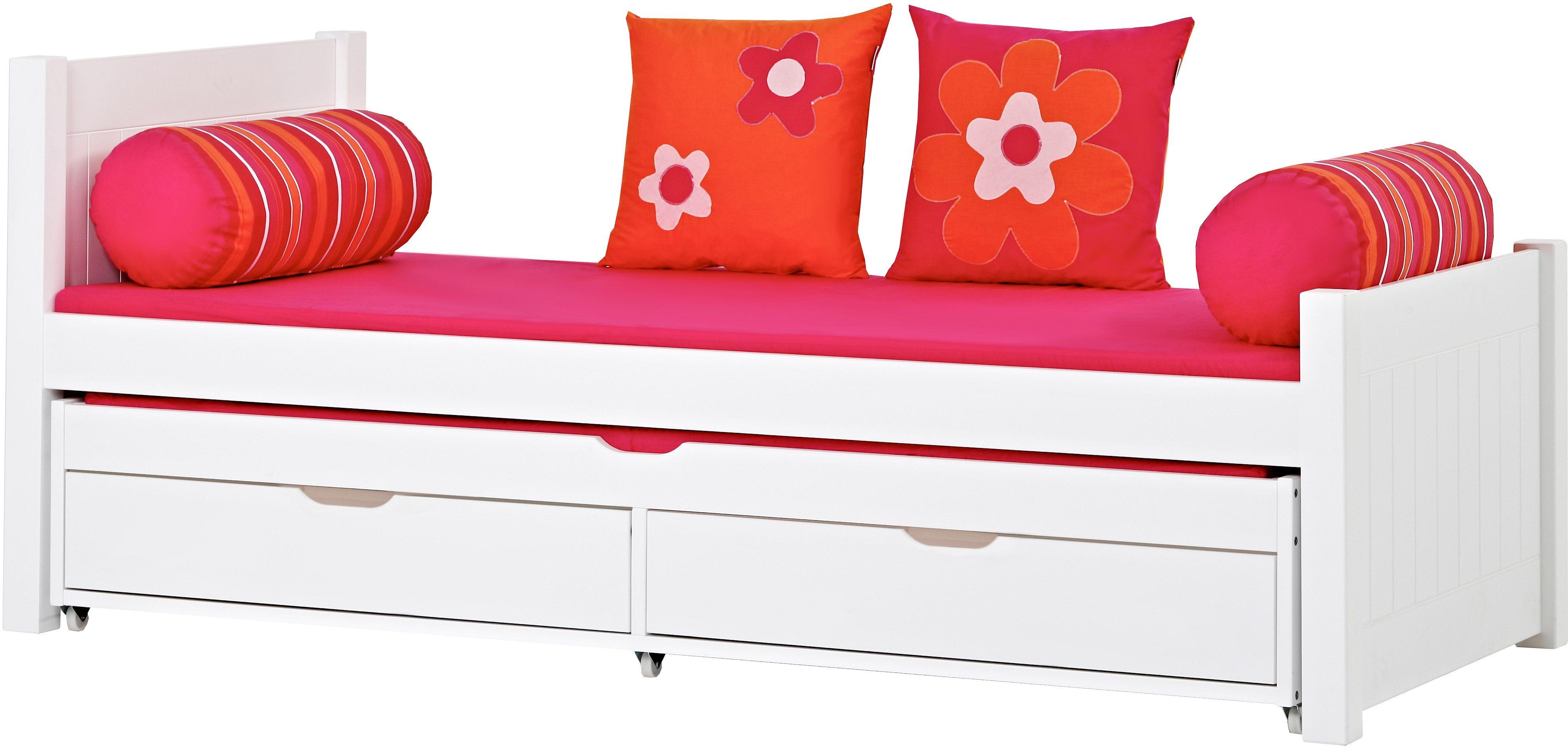 Hoppekids Bett Deluxe weiß Kinder Kinderbetten Kindermöbel