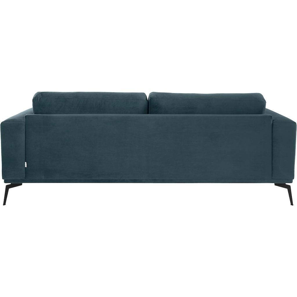 Guido Maria Kretschmer Home&Living Big-Sofa »Nantes«, in wunderschönem Design, ungewöhnliche Metallbeine