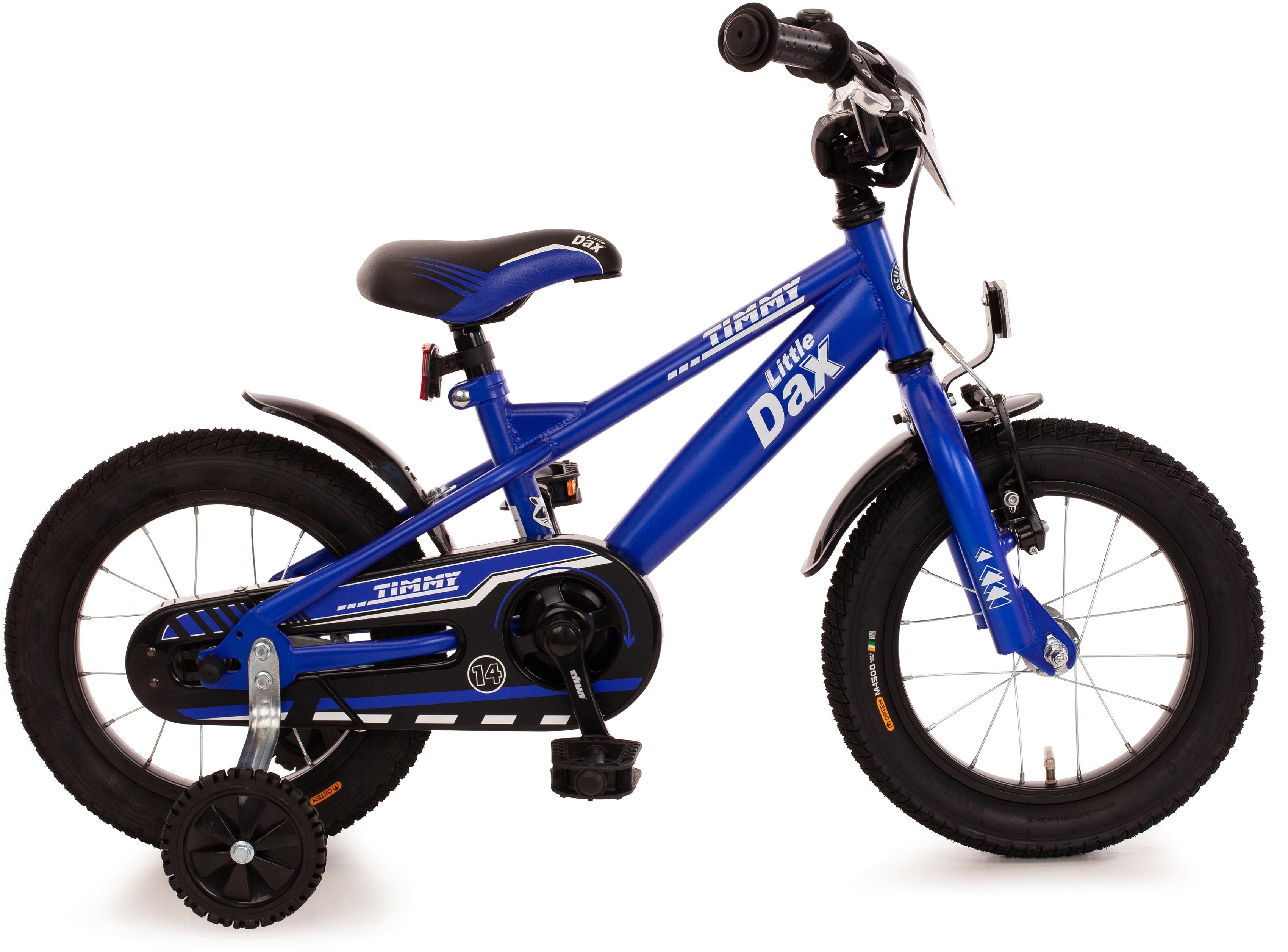 Bachtenkirch Kinderfahrrad - Little-Dax TIMMY, matt-blau, 1 Gang blau Kinder Kinderfahrräder Fahrräder Zubehör