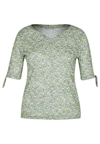 Rabe T-Shirt, mit floralem Muster und halblangen Ärmeln kaufen
