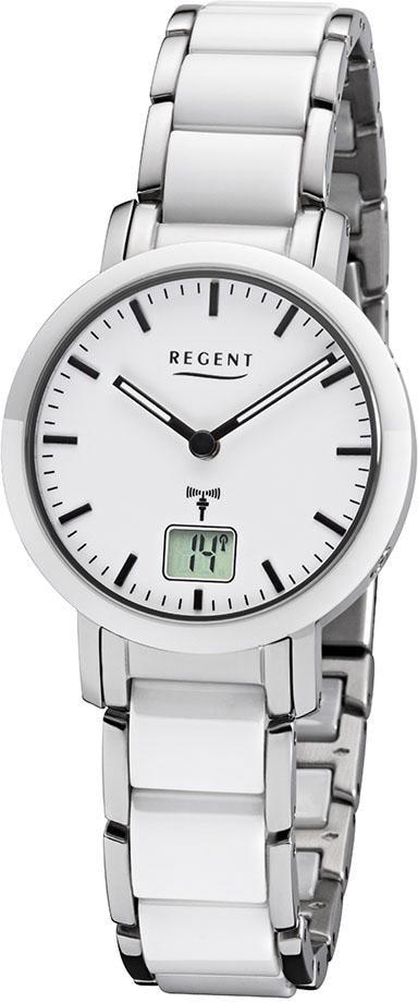 Regent Funkuhr 31564090 FR264   Uhren   Weiß   Regent