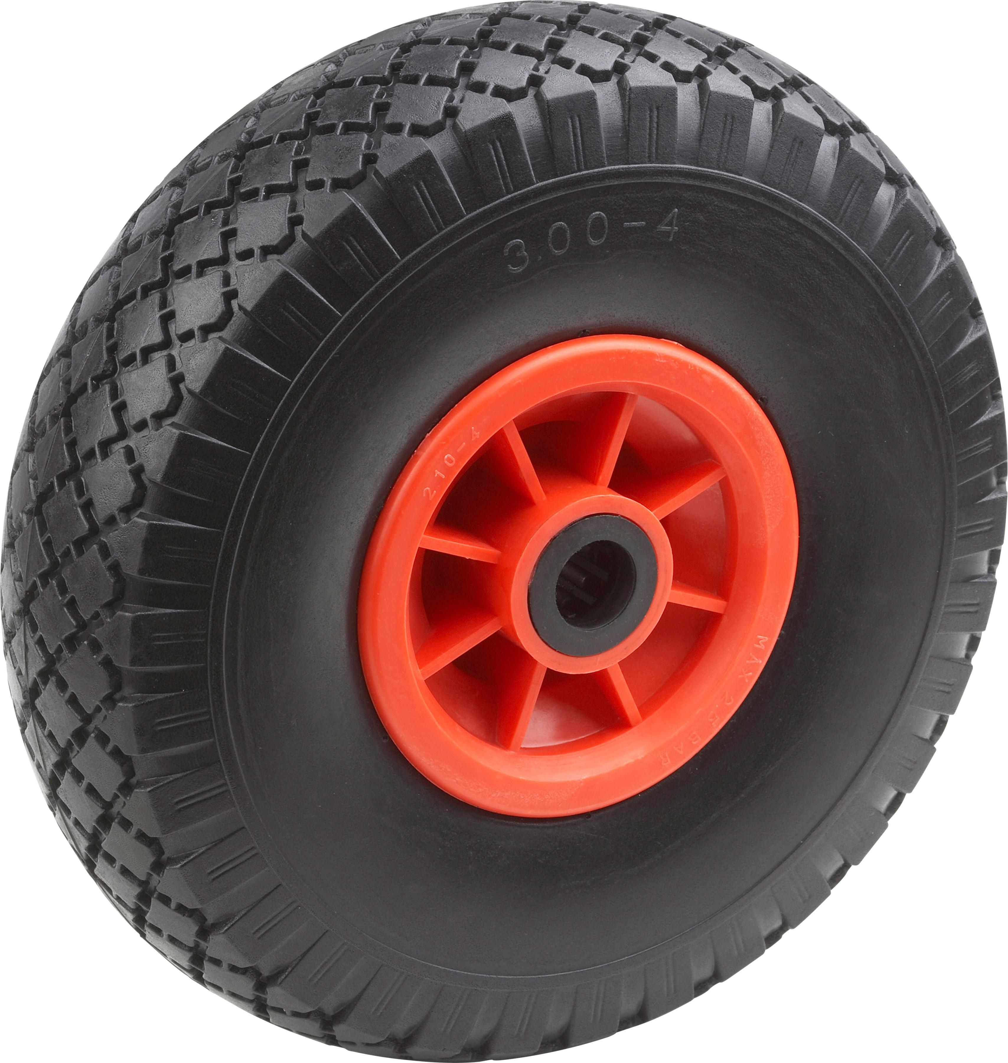 Metafranc Sackkarren-Rad rot Sackkarren Transport Werkzeug Maschinen