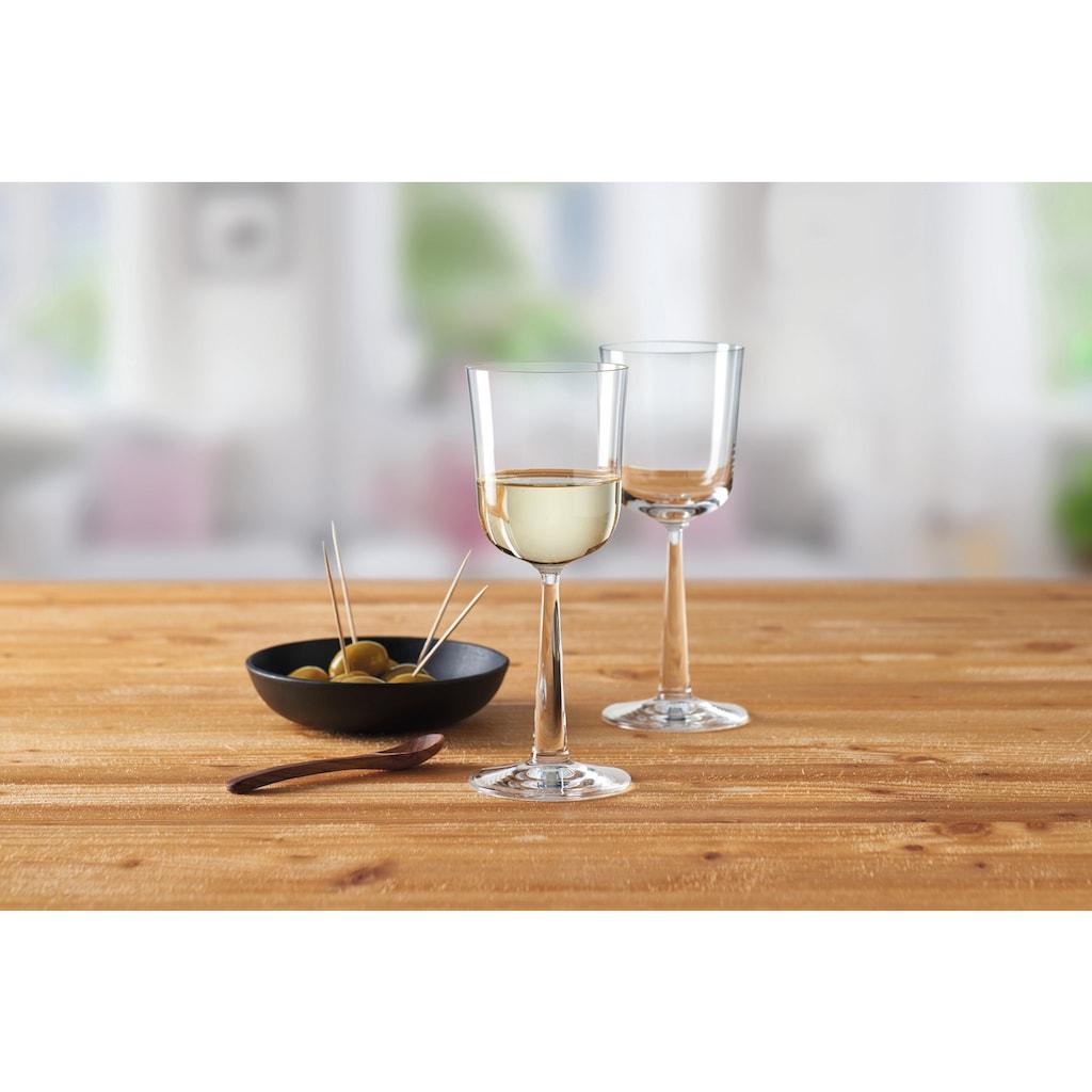montana-Glas Weißweinglas »:now«, (Set, 6 tlg.), 300 ml, Quotanglas, spülmaschinenfest, 6-teilig