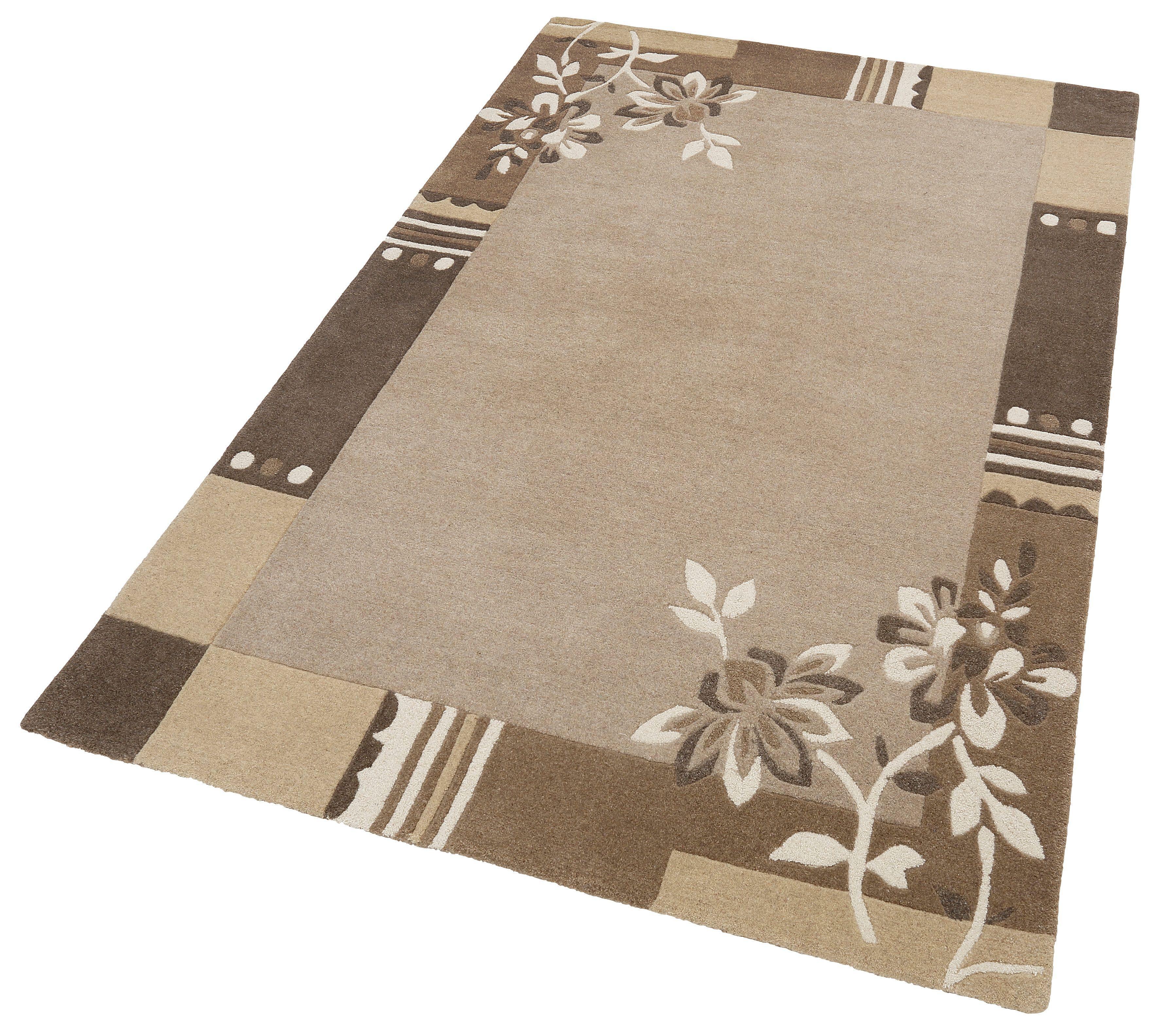 Teppich Napura THEKO rechteckig Höhe 12 mm handgetuftet