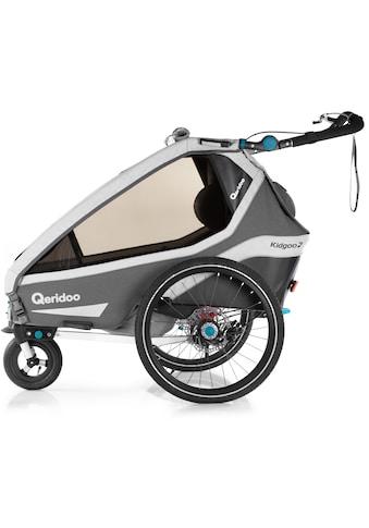 Qeridoo Fahrradkinderanhänger »KIDGOO 2 SPORT« kaufen