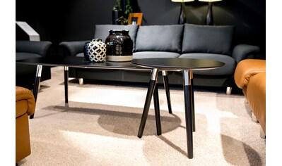 Stressless® Couchtisch »Style«, mit schwarzen Holzbeinen, Tischplatte in 3 Farben,... kaufen