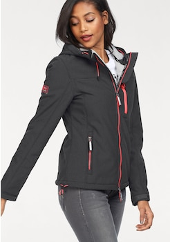 Superdry Softshelljacke »HOODED WINTER WINDTREKKER« kaufen 3c4abd1eb1