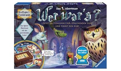 Ravensburger Spiel »Wer war´s?«, Made in Europe, FSC® - schützt Wald - weltweit kaufen