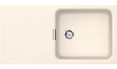 SCHOCK Granitspüle »Wembley D - 100L«, großes Becken, 100 x 51 cm kaufen