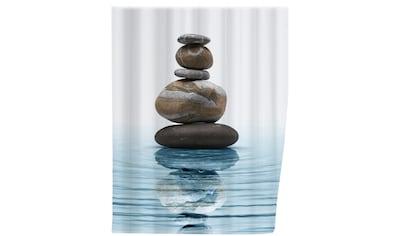 WENKO Duschvorhang »Meditation«, Breite 180 cm, Höhe 200 cm kaufen
