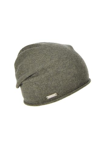 Seeberger Strickmütze »lässige Mütze mit Rollkante in 100% Cashmere 16700-0« kaufen