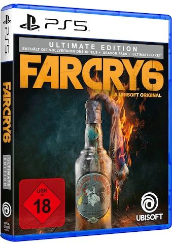 UBISOFT Spiel »Far Cry 6 - Ultimate Edition«, PlayStation 5 kaufen