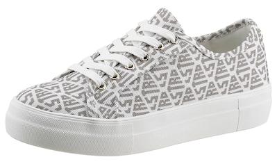 La Strada Plateausneaker »Fashion Sneaker«, mit Allover Logoschriftzug kaufen