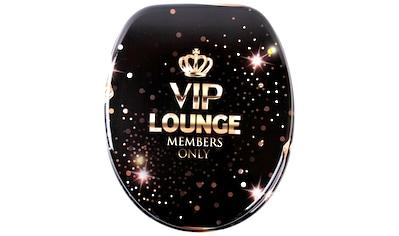 Sanilo WC-Sitz »VIP-Lounge«, mit Absenkautomatik kaufen