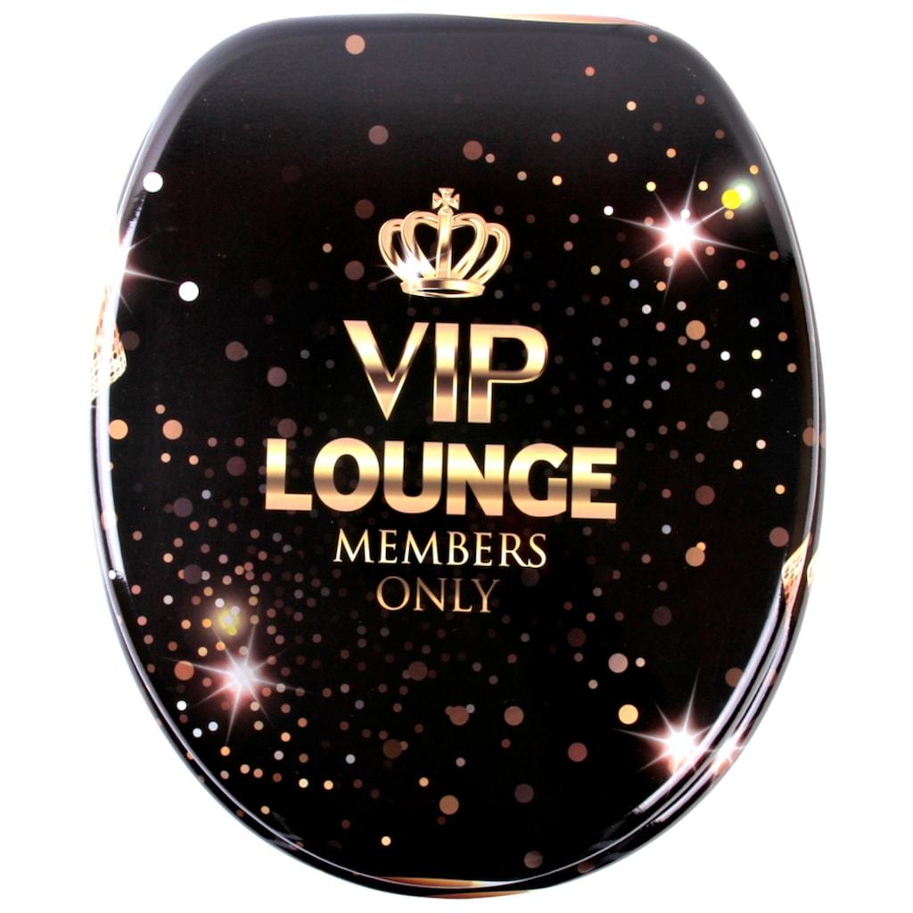 Sanilo WC-Sitz »VIP-Lounge«, mit Absenkautomatik