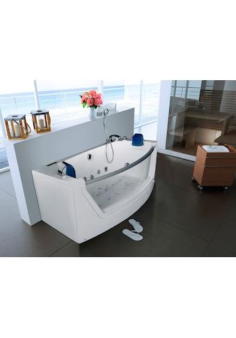 HOME DELUXE Whirlpool-Badewanne »Cadiz M«, B/T/H: 175 / 85 / 60 cm kaufen