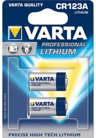VARTA »CR123A« Batterie (2 Stück) kaufen