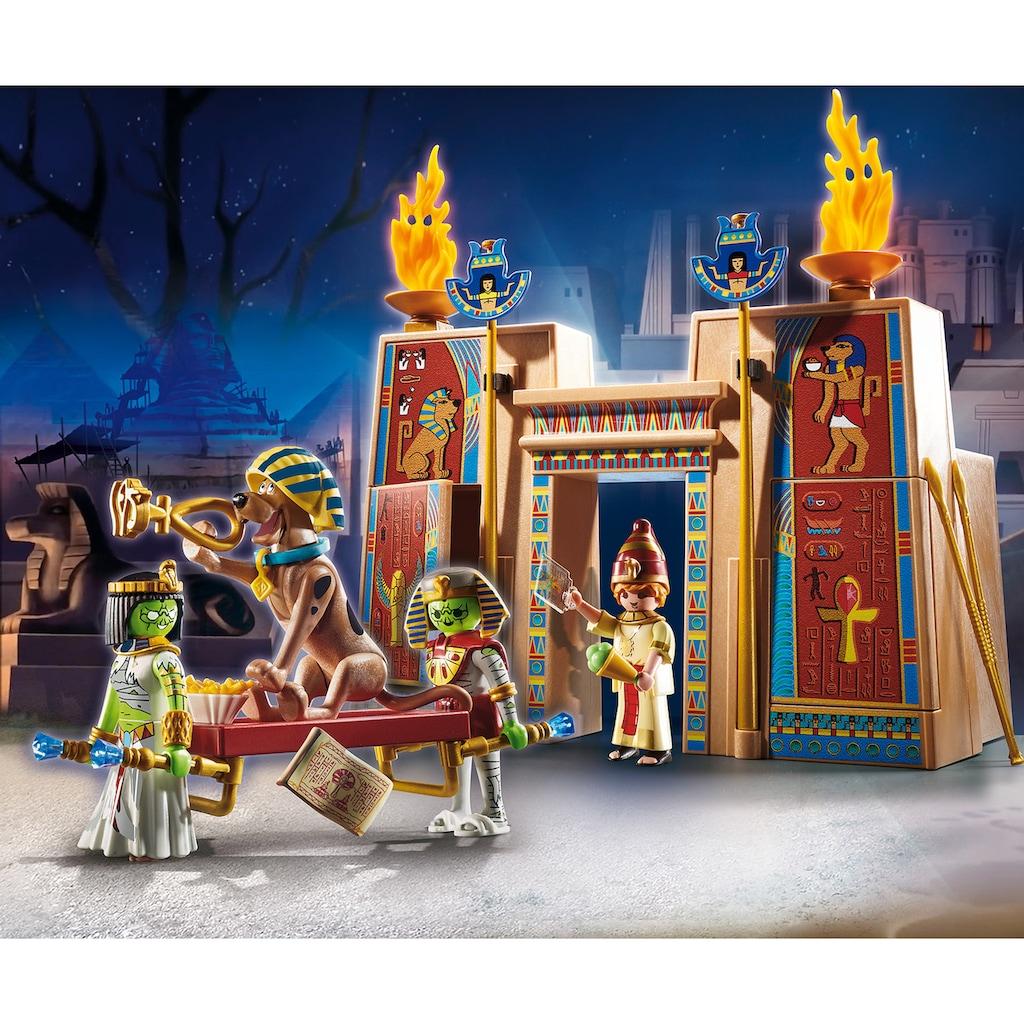 Playmobil® Konstruktions-Spielset »SCOOBY-DOO! Abenteuer in Ägypten (70365), SCOOBY-DOO!«, ; Made in Germany