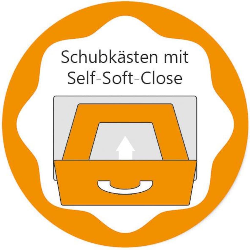 arthur berndt Babyzimmer-Komplettset »Joris«, (Set, 3 St.), Made in Germany; mit Kinderbett, Schrank und Wickelkommode