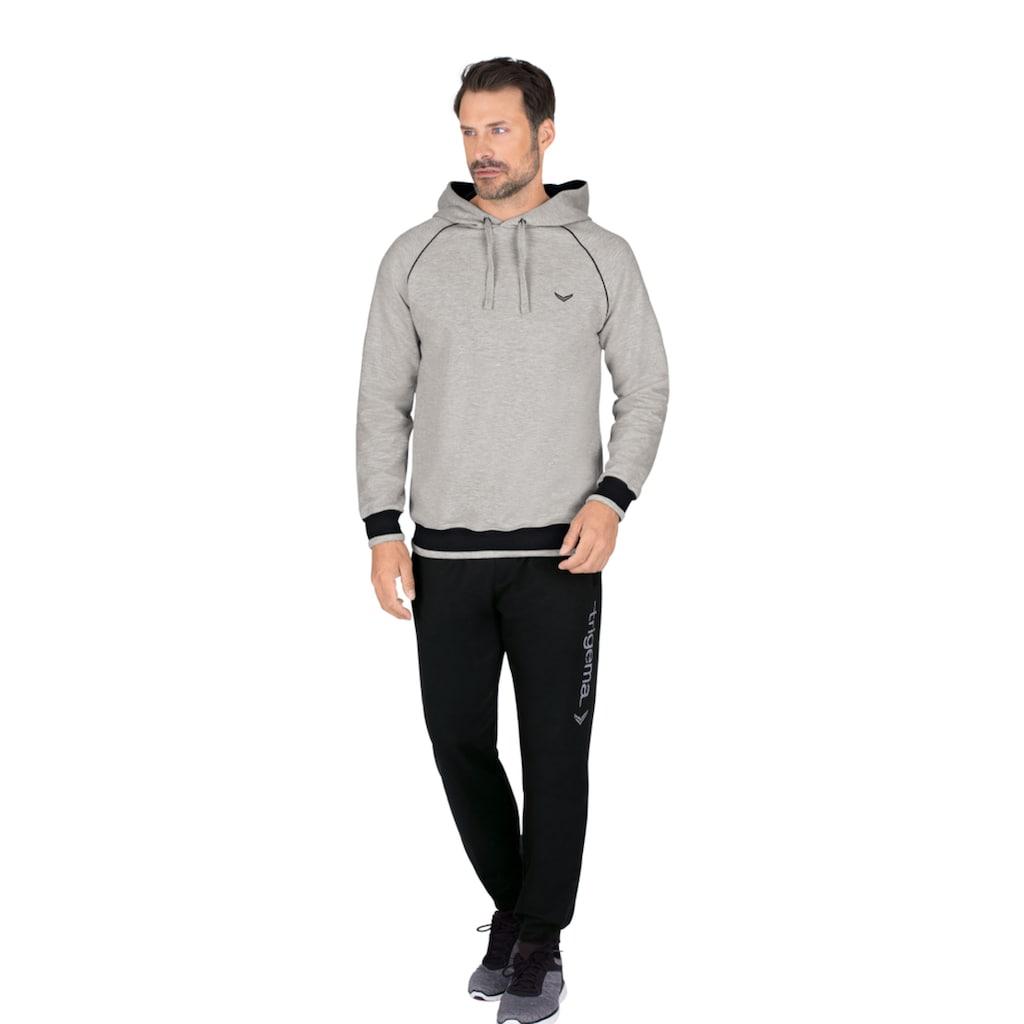 Trigema Jogginganzug, mit Kapuzenshirt