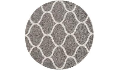 Sanat Hochflor-Teppich »Madrid 1350«, rund, 30 mm Höhe, Wohnzimmer kaufen