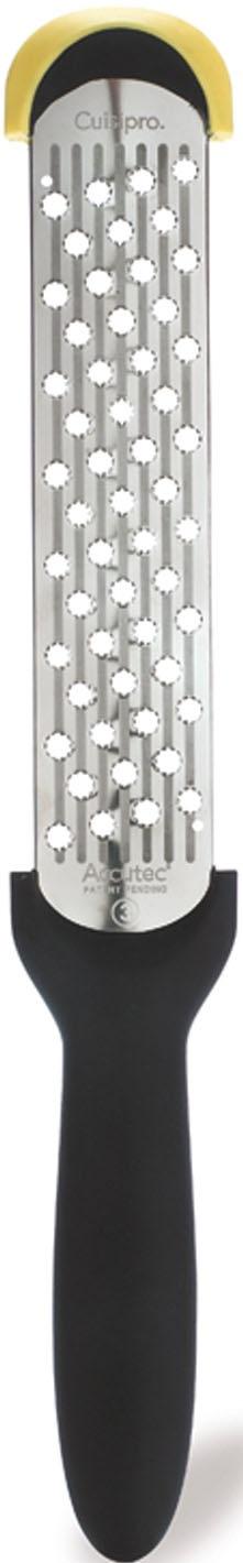 Cuisipro Käsereibe, (Kronenraspel,)für müheloses Reiben, mit Surface Glide TechnologyTM schwarz Käsereibe Reiben Hobel Kochen Backen Haushaltswaren