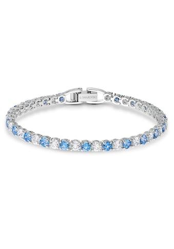 Swarovski Tennisarmband »blau, rhodiniert, 5536469« kaufen