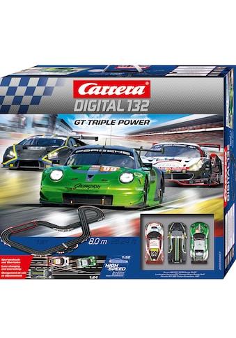 """Carrera® Autorennbahn """"Carrera® Digital 132  -  GT Triple Power"""", (Streckenlänge 8 m) kaufen"""