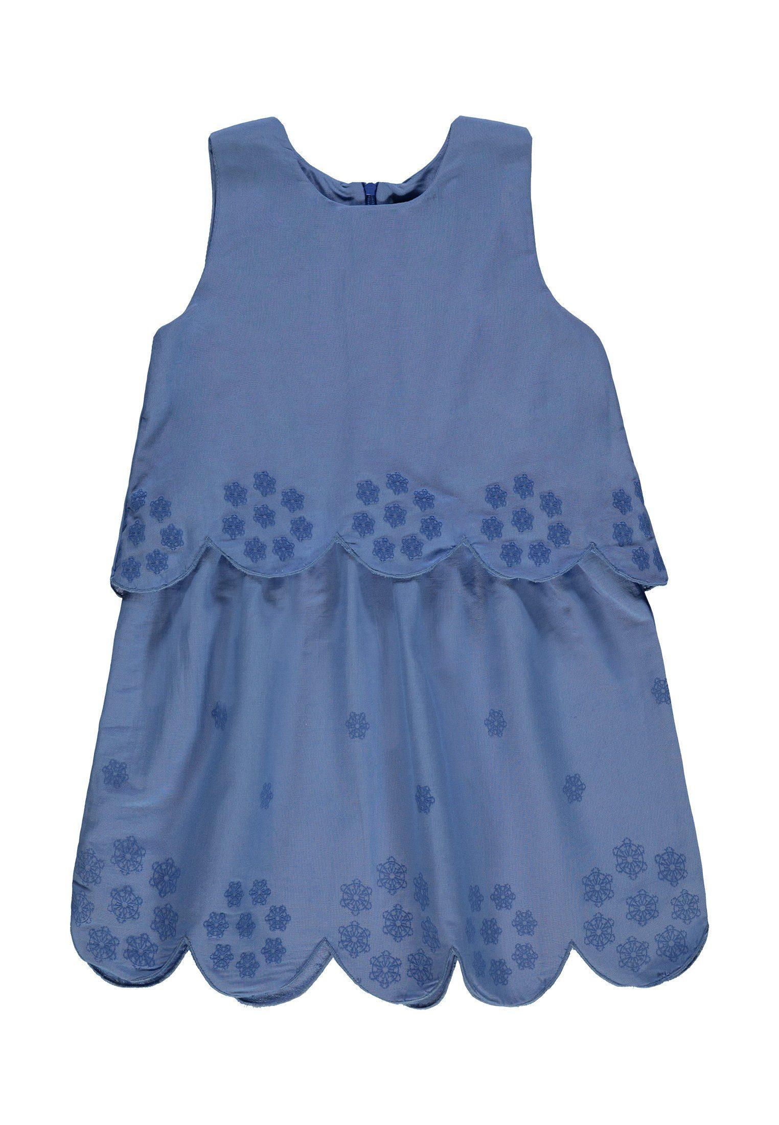 Marc O'Polo Junior Kleid ohne Arm blau Mädchen Sommerkleider Kleider Mädchenkleidung