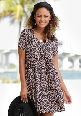 LASCANA Blusenkleid, mit Herzchenprint kaufen
