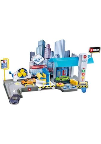 Bburago Spiel-Gebäude »StreetFire Waschstraße«, inklusive 1 Fahrzeug kaufen