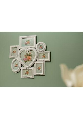 Myflair Möbel & Accessoires Bilderrahmen »Caja«, Family, weiß antik kaufen