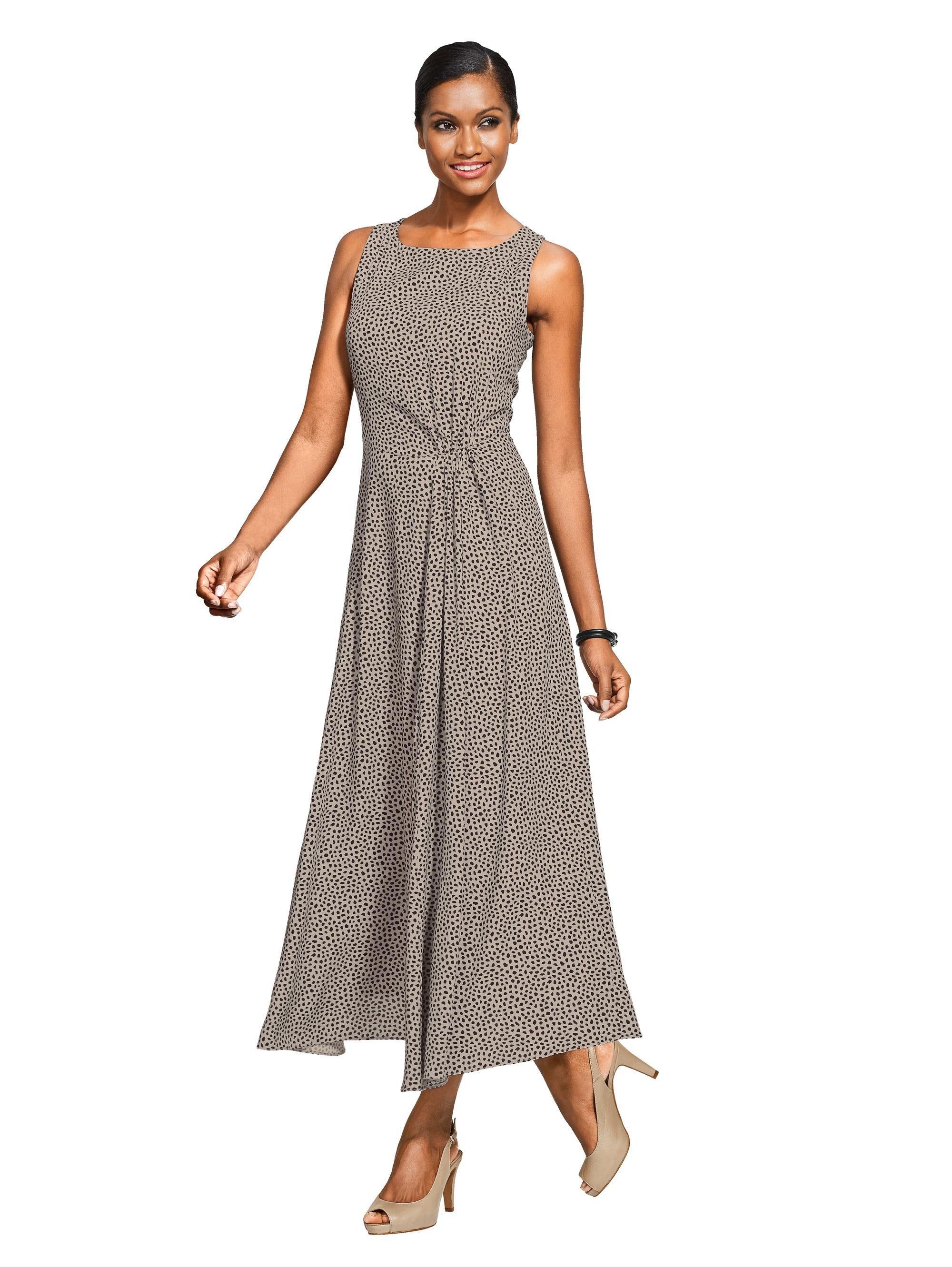 Alba Moda Druckkleid aus reiner Viskose