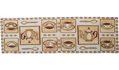 SPRÜGEL Tischläufer »Kaffeepause«, (1 St.), Gobelin kaufen