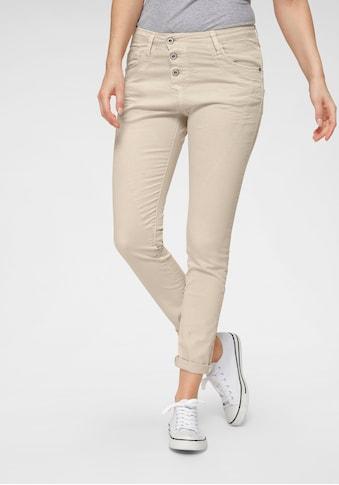 Please Jeans 5-Pocket-Jeans »P78A«, lässige Boyfriend Jeans in leichter Crinkle Optik und krempelbarem Bein kaufen