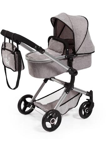 Bayer Kombi-Puppenwagen »Vario, Grau«, inkl. Wickeltasche kaufen